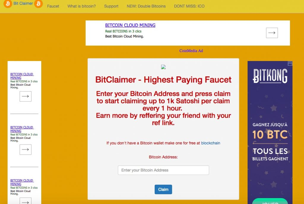 Bitclaimer.me - Highest Paying Faucet is a scam ...