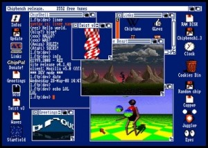 Amiga Workbench Emulator in chromeexperiments